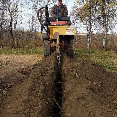Mini Ditch Witch Trencher