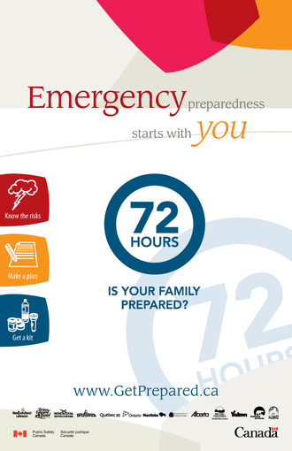 72 Hours: Is Your Family Prepared?