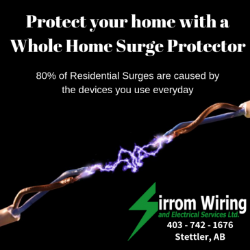 Protect your home with a Whole Home Surge Protector